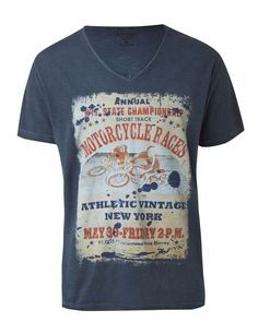 "Athletic Vintage T-Shirt ""Short Track"""