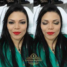 Make up. .. #maccosmetics #rubiwoo #nyxcosmetics #lashes #lipsred #lipstick #contorno #makeup