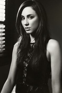Troian Bellisario...supposedly my dopple ganger. Not quite sure about that but I love her style
