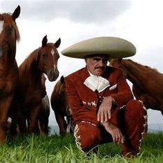 Vicente Fernandez.... Even the horses look gangsta
