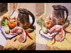 Still Life Painting in Gouache Step by step Music The 49th Street Galleria by Chris Zabriskie is licensed under a Creative Commons Attribution licence (https...