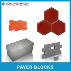 Whatever project one may have in mind, The #PaverBlock provides versatility, design material and function. It gives an economical and long-term alternative to other types of paving materials. You can order online for quality paver blocks at eConstruction Mart.