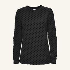 Norse Projects – Embla Dot LS Jersey – Black – Støy