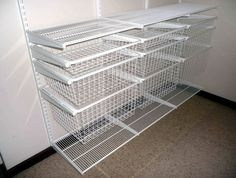 White Wire Closet Shelving For Home Design Ideas                                                                                                                                                     More