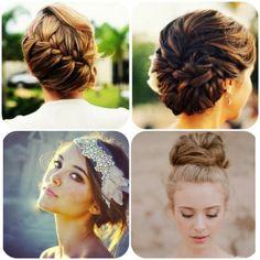 Penteados noivas