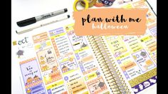Plan with Me - Halloween