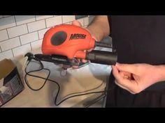 (2) DIY: Black & Decker Mouse - detail sander - YouTube