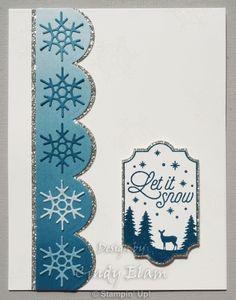 Colorful Seasons, Snow, Snowflakes, Christmas, Stampin' Up!