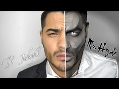 Dr. Jekyll & Mr. Hyde Makeup | NYX Face Awards | Alex Faction - YouTube