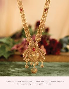 Rivaah presents gold and kundan encrusted jewellery for brides from all parts of India and caters to all Indian weddings. Gold Haram Designs, Gold Mangalsutra Designs, Real Gold Jewelry, Gold Jewellery Design, Mommy Jewelry, Simple Jewelry, Glass Jewelry, Indian Wedding Jewelry, Indian Weddings