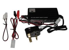 Bulldog Smart Charger with Auto Cut Off for 6-12v NiMh and NiCd Airsoft Batteries