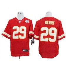 Nike Eric Berry Jersey Elite Team Color Red Kansas City Chiefs #29