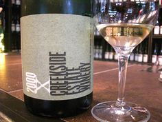 "If you enjoy a fine sparkling wine, this is definitely one you need to try!! Creekside ""X"" Blanc de Blancs 2000"