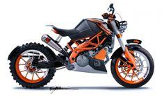 KTM – Cafe Racer, Scrambler, or Bobber Motorcycle? bada$$