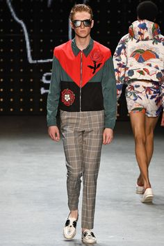 Topman Design Spring 2017 Menswear Fashion Show