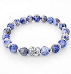 A wonderful bracelet made with natural stone beads in combination with Lava beads. It features a Buddha head charm and comes in 6 available colors! For a limited time, get this bracelet for ONLY $12.95 (+FREE SHIPPING)! More Info Here: http://collectionoflovely.com/product/buddha-bracelet-with-natural-stone-beads-for-men-women/