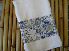 Resultado de imagem para toalhas lavabo bordadas