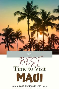 Find out the best time to visit Maui based on the weather, seasons, cheapest months, things to do and more. #Maui #Hawaii #USA #beachvacation #luxury