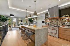 Custom kitchen fabricated by Leo Claudio in Rift White Oak.