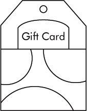 Gift Card Sketch for Card Making