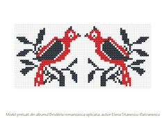 Posts about Broderia romaneasca aplicata written by Mihaela-Iuliana Dumitrescu Hand Embroidery Art, Cross Stitch Embroidery, Embroidery Patterns, Knitting Patterns, Cross Stitches, Cross Stitch Bird, Loom Beading, Art Sketchbook, Hand Stitching