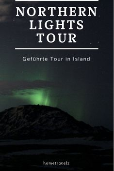 Eine geführte Northern Lights Tour, Nordlicht Tour, im Süden von Island. Was ihr auf einer solchen Tour erwarten könnt und ob es sich überhaupt lohnt, erfahrt ihr bei uns im Blog.