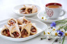 Ciasteczka z rabarbarem, ciasteczka, rabarbar http://najsmaczniejsze.pl #cookies #rabarbar