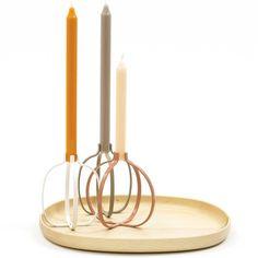 Clip Pomegranate Candle holder //Nendo for Discipline