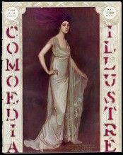 """Comoedia Illustré 1913 n°18 Ida Rubinstein """"La Pisanelle"""", Antonio de La Gandara, Worth"""