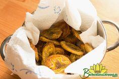 Chips Crocantes de Banana-da-Terra Assados