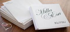 Our wedding invitations Wedding Blog, Our Wedding, Blush Wedding Invitations, Writing, Love, Black, Amor, Black People, El Amor