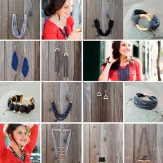 DIY TUTORIALS: 15 Easy Ways to Turn T-Shirts into Jewelry | Brit + Co.