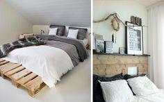 Decofilia Blog | Ideas para decorar dormitorios con pallets