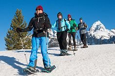 Journey into the heart of winter on snowshoes or cross-country skis with a naturalist guide. Follow animal tracks in the snow, examine different aspects of winter ecology and enjoy the outstanding beauty of Jackson Hole as it is blanketed in white. Tours are offered in Grand Teton National Park and in the surrounding National Forest. …