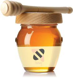 Honey Jar by Ana Araújo, via Behance