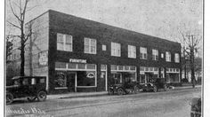 Mardis Building, West Asheville. Built in 1925, recently added to National Register of Historic Places.