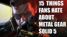 awesome fifteen Points Hardcore MGS Followers Loathe About Steel Equipment Sound five The Phantom Agony