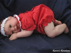 Reborn Baby Doll Cookie sculpted by Donna RuBert by gwshops, $199.00