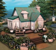 Sims 4 Houses Layout, Tiny House Layout, House Layouts, Sims 3 Houses Ideas, House Ideas, Sims 4 House Plans, Sims 4 House Building, Sims 4 House Design, Casas The Sims 4