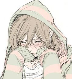 Anime girl crying and blushing Anime Girl Crying, Sad Anime Girl, Sad Girl, I Love Anime, Manga Girl, Anime Girls, Crying Girl Drawing, Boy Crying, Manga Anime