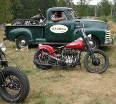 Harley Flathead 1120