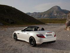 The SLK is built in Bremen, Germany. Mercedes Benz SLK55 AMG 2012