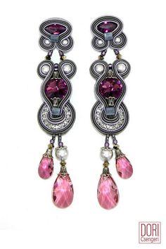 Rhapsody Crystal Drop Earrings