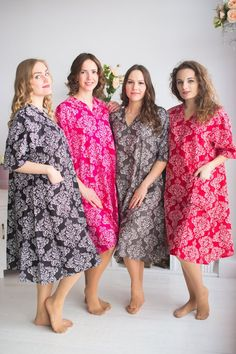 e21a04fa4e Damask Birthing Gowns - Labor Gowns