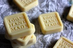 Lotion Bar- Have you tried these yet? All you need to make the basic bar is coconut oil, cocoa butter, and beeswax. They smell delicious and leave skin silky soft.