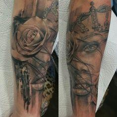 RAFA EMME  FROM ÉLITE TATTOO STUDIO. VALENCIA  (SPAIN) Valencia Spain, Tattoo Studio, Tattoos, Tatuajes, Tattoo, Tattos, Tattoo Designs