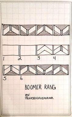Boomer Rang~Zentangle