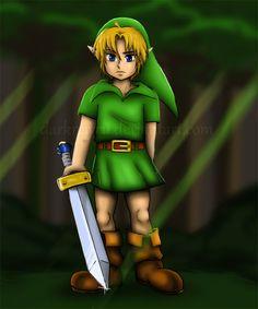 Link the Kokiri by darknayru