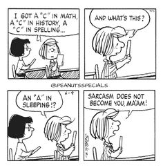 First Appearance: June 9th, 1983 #peanutsspecials #ps #pnts #schulz #peppermintpatty #marcie #c #math #history #spelling #a #sleeping #sarcasm #become #maam www.peanutsspecials.com