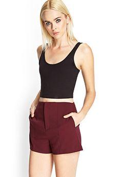 Paneled Woven Shorts | FOREVER21 - 2000121801